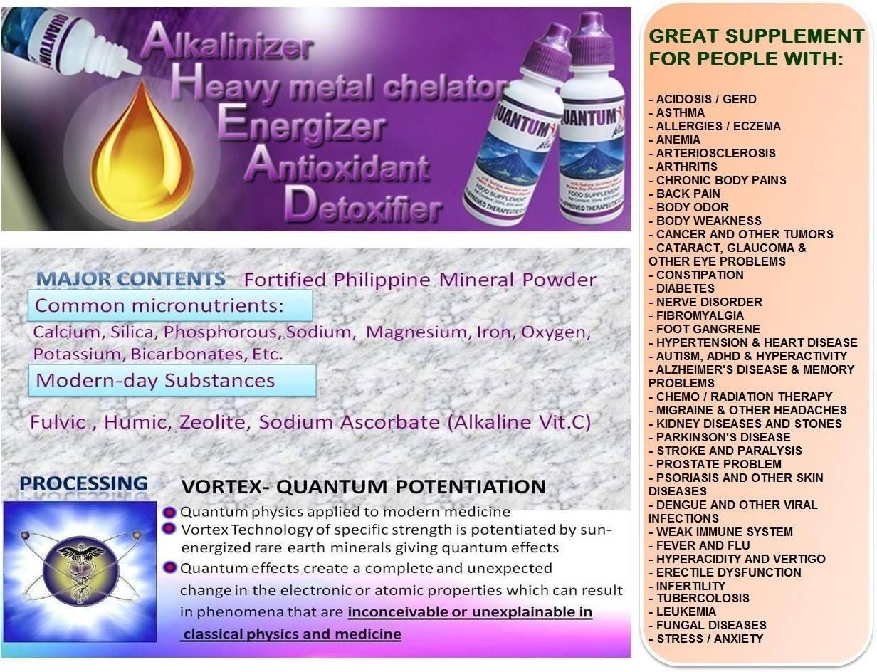 Health Benefits Of Quantumin Plus